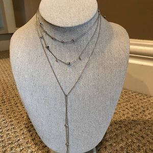 Stella & Dot Delicate layering necklace.